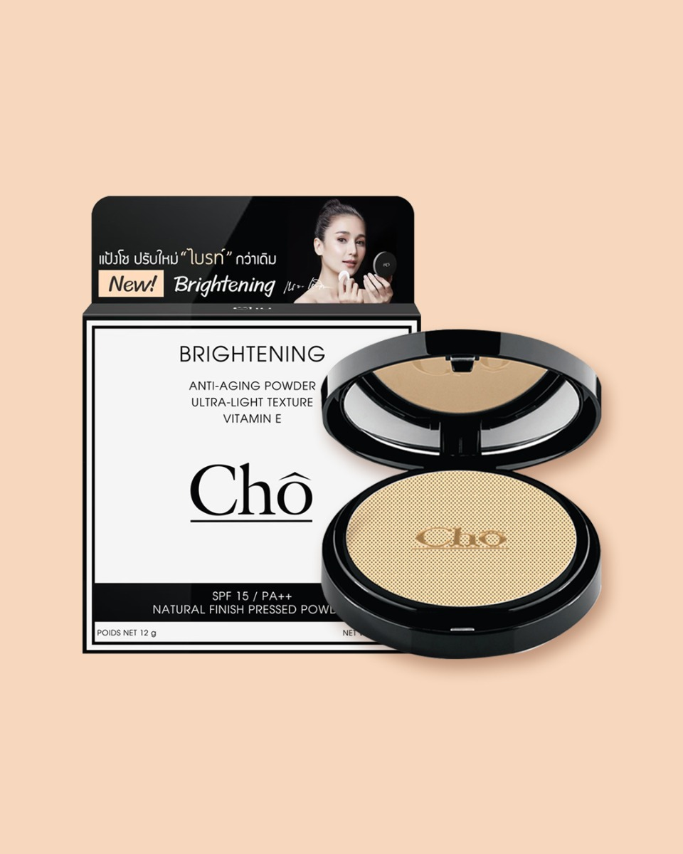 Cho Brightening Anti-Aging Powder SPF15/PA++ 12g.