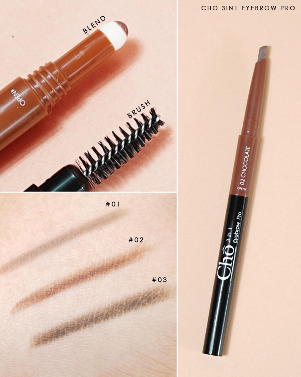 Cho 3in1 Eyebrow Pro