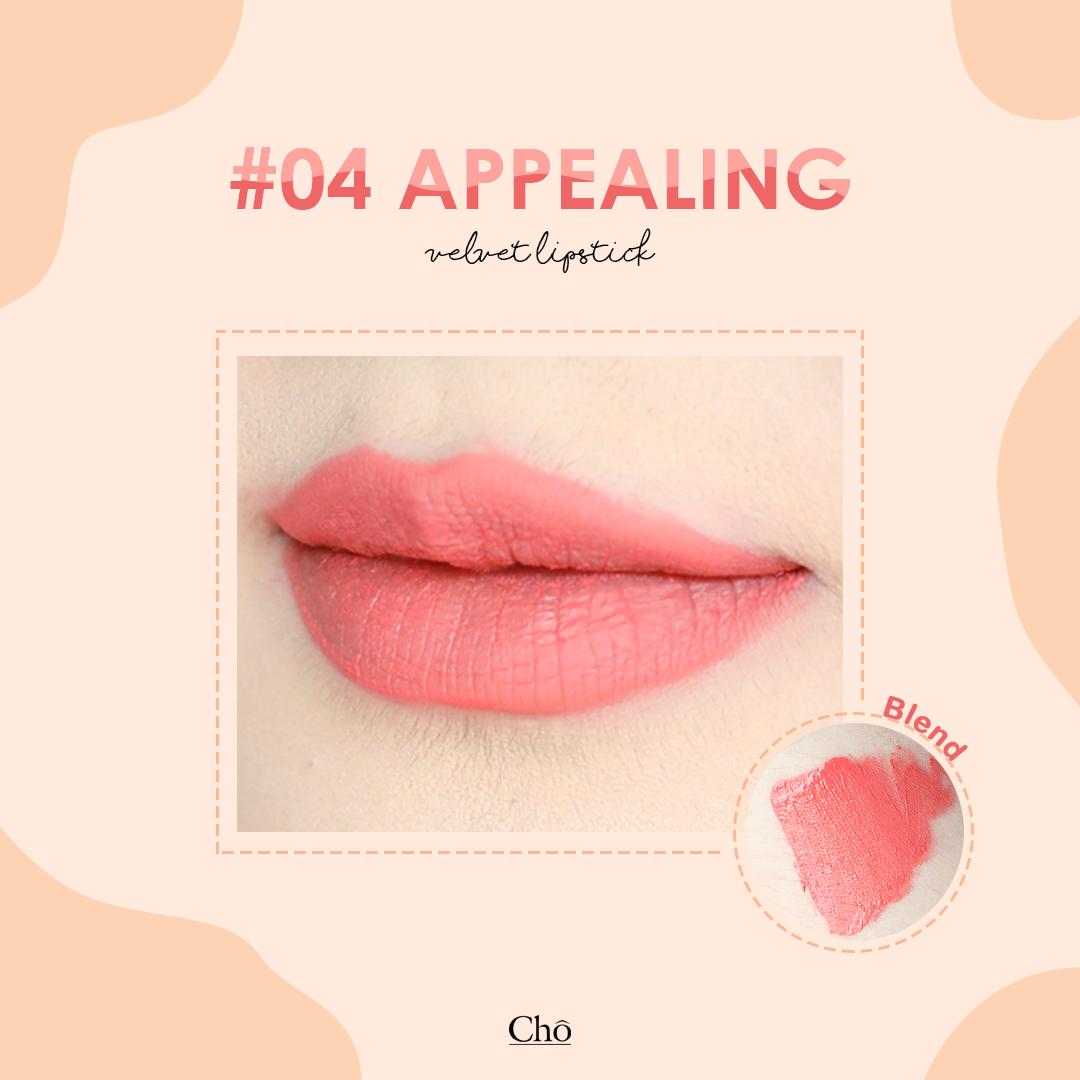 Cho Velvet Tint Lipstick